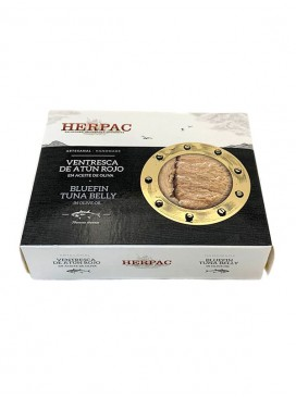 Ventresca de atún rojo en aceite de oliva Herpac 245 g