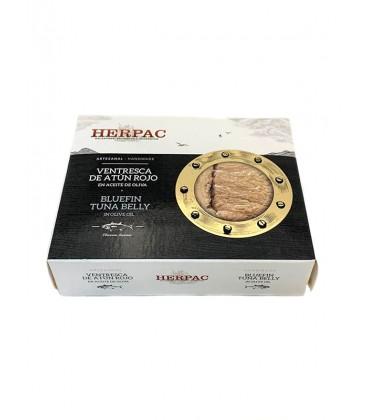 Ventresca de atún rojo en aceite de oliva Herpac 320 g