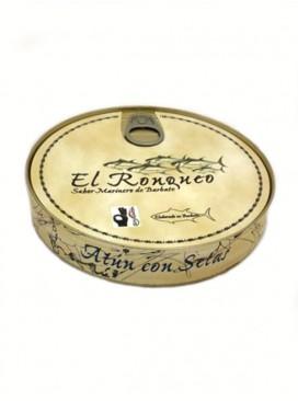 Ventresca de atún con setas en aceite de oliva El Ronqueo 280 g