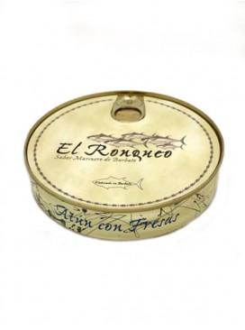Ventresca de atún con fresas en aceite de oliva El Ronqueo 280 g