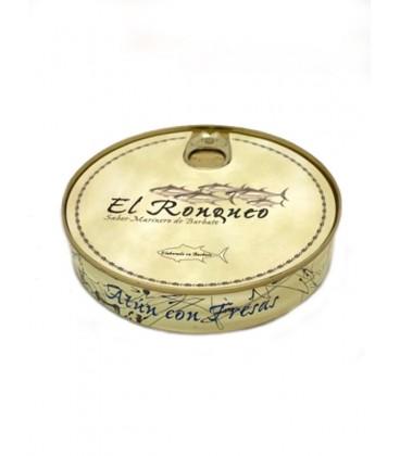 Atún con fresas en aceite de oliva El Ronqueo 280 g