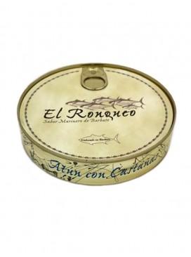 Ventresca de atún con castañas en aceite de oliva El Ronqueo 280 g