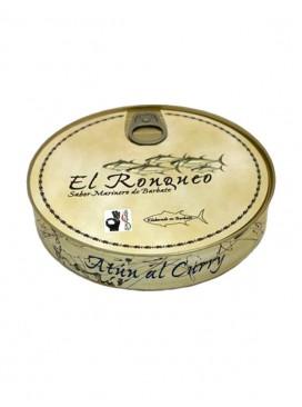 Atún al curry en aceite de oliva El Ronqueo 280 g