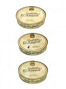 Pack de 3 platos de atún El Ronqueo (280 g x 3)