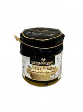 Queso de cabra en aceite de oliva virgen extra Los Balanchares (2 uds) 80 g