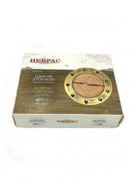 Lomo de atún rojo en aceite de oliva Herpac 245 g