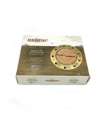 Lomo de atún rojo de almadraba en aceite de oliva Herpac 320 g