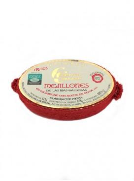 Mejillones en escabeche medianos Cambados Gourmet (8-12 uds) OL 120 g