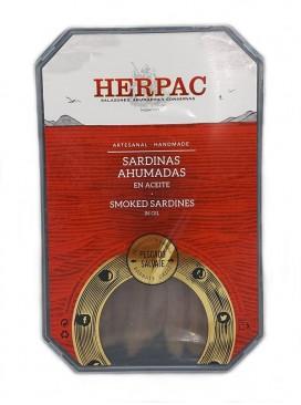 Sardinas ahumadas en aceite Herpac 500 g