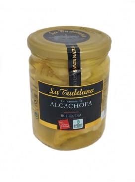 Corazones de alcachofa extra D. O. Tudela (8/12 uds) La Tudelana 250 g