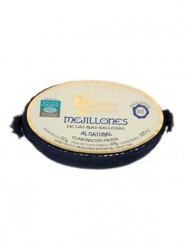 Mejillón al natural de las Rías Gallegas Cambados Gourmet (8-12 uds) 120 g