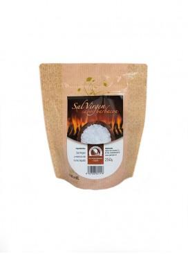 Sal marina virgen sabor barbacoa Salina San Vicente 250 g
