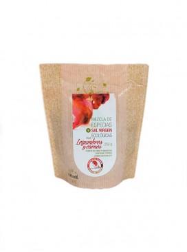 Mezcla de especias y sal virgen eco para legumbres y carnes Salina San Vicente 250 g