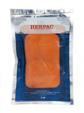 Salmón noruego ahumado Herpac 100 g