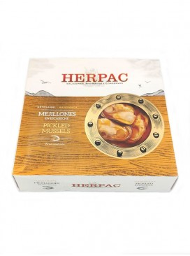 Mejillón gigante en escabeche Herpac (15-20 uds) 523 g