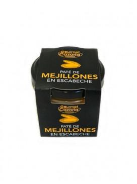Paté de mejillones en escabeche Gourmet Cazorla Premium 110 g