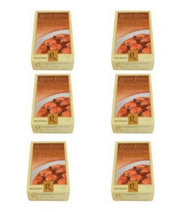 Mejillón mediano en salsa de vieira Ramón Franco (12-16 uds.) 115 g (6 uds)
