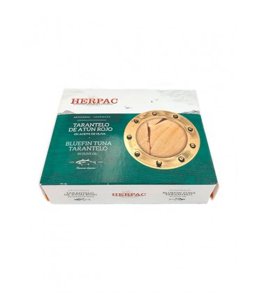 Tarantelo de atún rojo en aceite de oliva Herpac 245 g