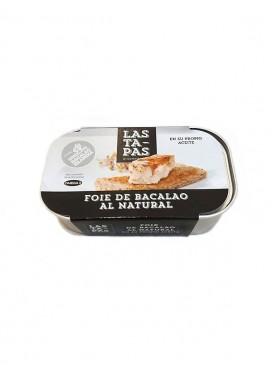 Foie de Bacalao al natural Las Ta-Pas 120 g