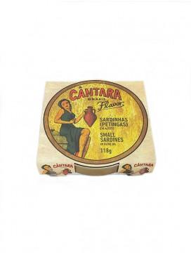 Sardinillas en aceite de oliva Cántara 118 g