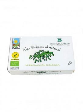 Alga wakame ecológica al natural Porto Muiños 90 g