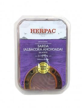 Filetes de sarda en aceite Herpac 250 g