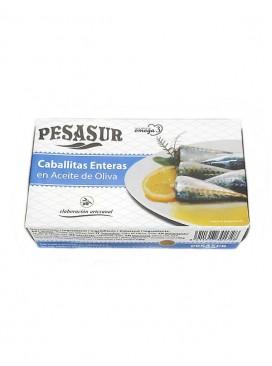Caballitas enteras en aceite de oliva Pesasur 120 g