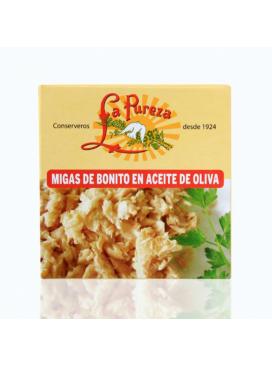 Migas de Bonito del Norte en aceite de oliva La Pureza 200 g