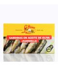 Sardinillas en aceite de oliva La Pureza (14-15 uds) 115g