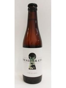 Cerveza artesana Desiderata original 33 cl