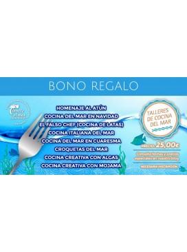 Bono regalo para Taller de Cocina del Mar
