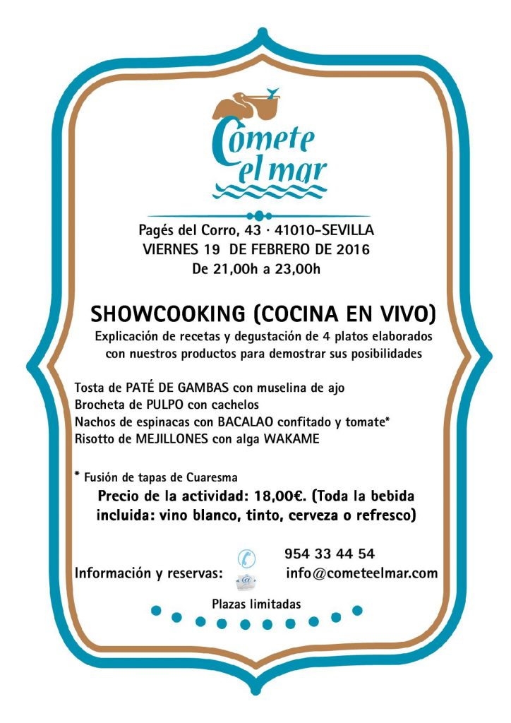 showcooking 19-02-16