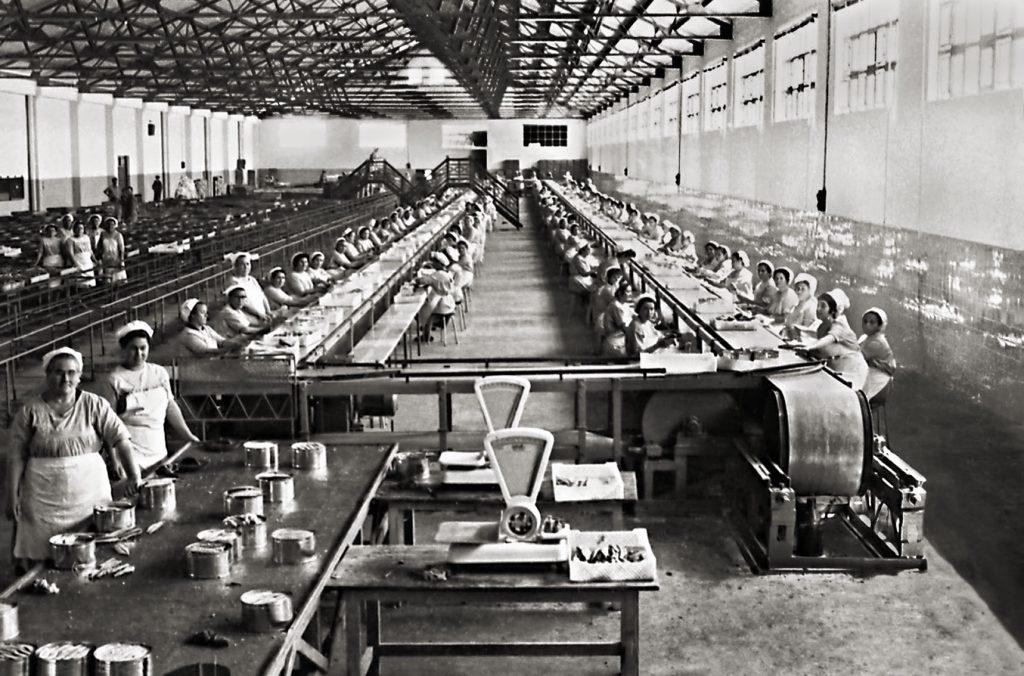 Conservera del Consorcio Nac Almadrabero_1968-baja