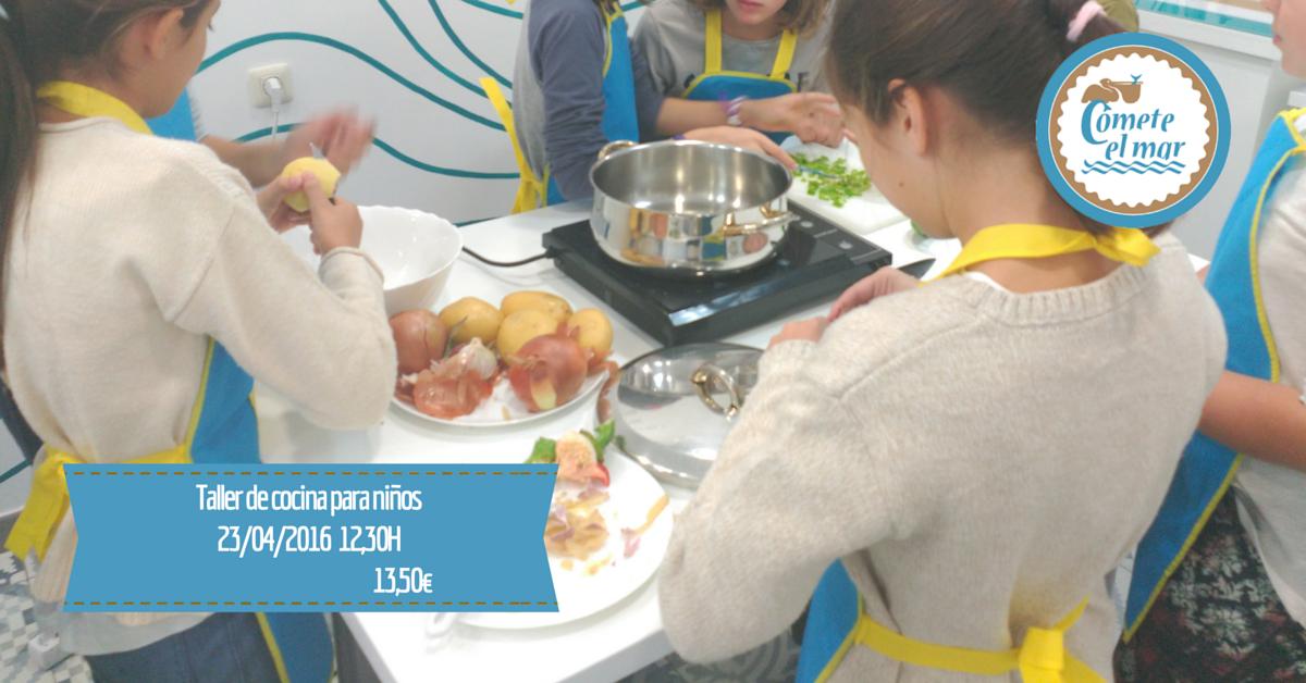 Taller de cocina para ni os 23 de abril 2016 blog c mete for Taller de cocina teruel