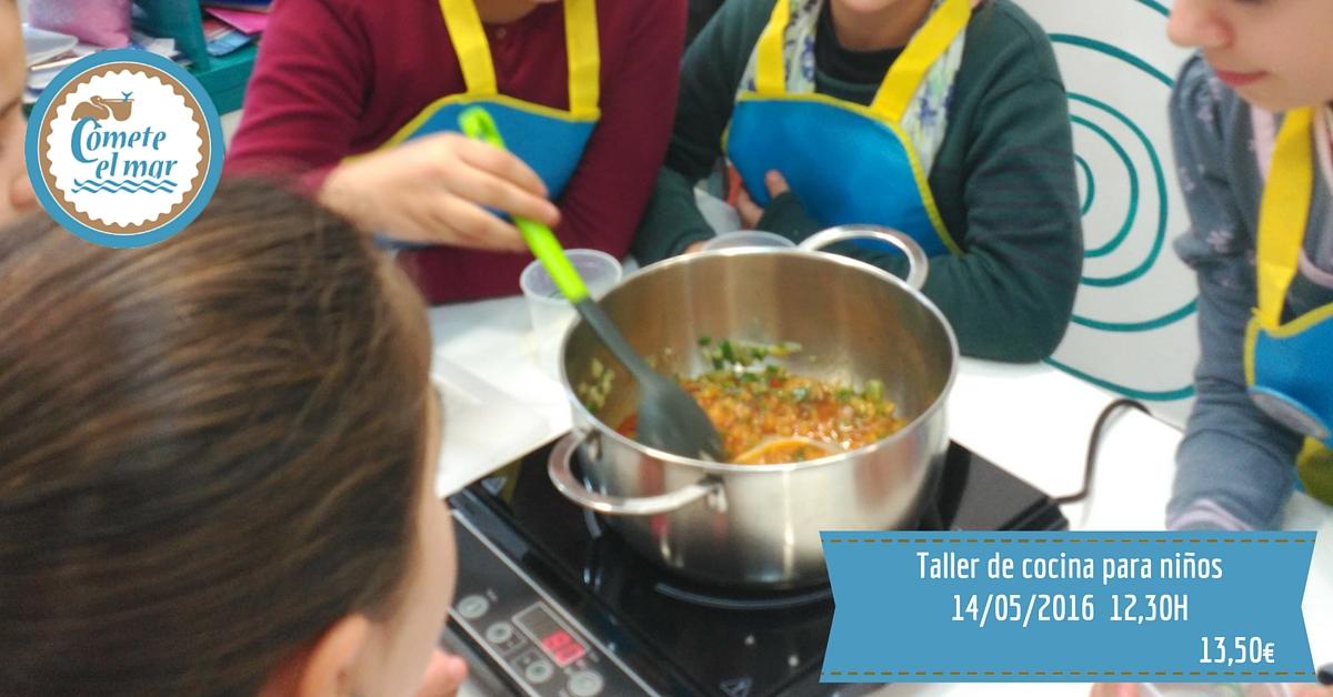 Taller de cocina para ni os 14 de mayo de 2016 blog for Taller cocina ninos