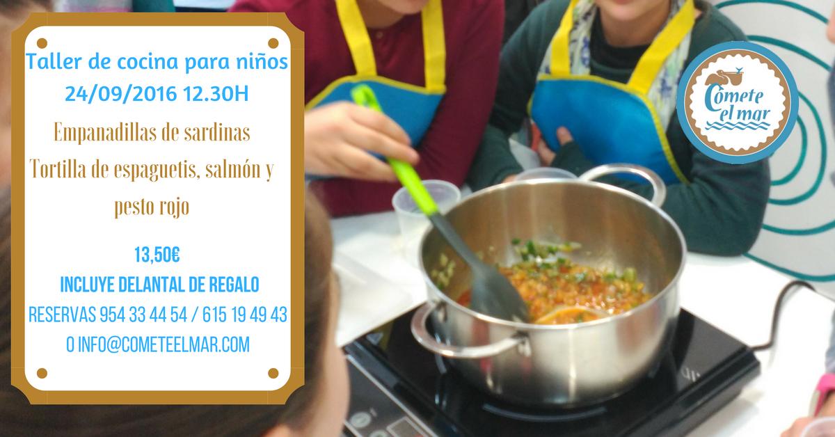 Taller de cocina para ni os s bado 24 septiembre blog - Talleres de cocina infantil ...