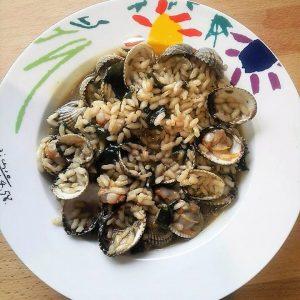 arroz algas berberechos conservas sevilla