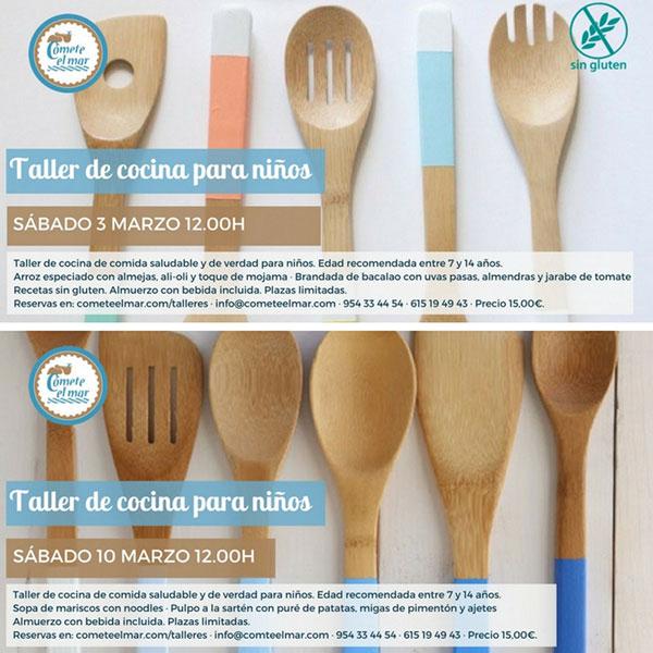 carteles talleres cocina sevilla