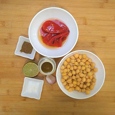 ingredientes hummus tienda conservas sevilla