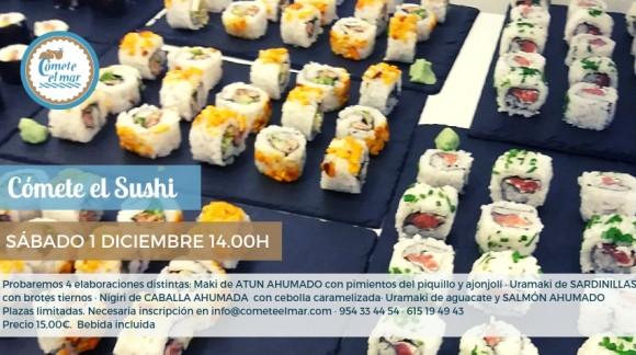 Cómete el Sushi 1 diciembre 2018 · 14.00h